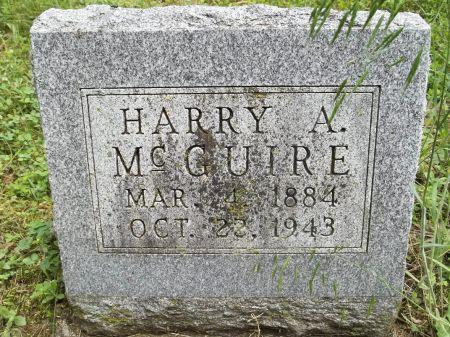 MCGUIRE, HARRY A, - Appanoose County, Iowa | HARRY A, MCGUIRE
