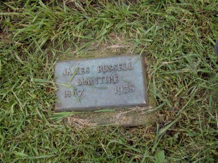 MCINTIRE, JAMES RUSSELL - Appanoose County, Iowa | JAMES RUSSELL MCINTIRE