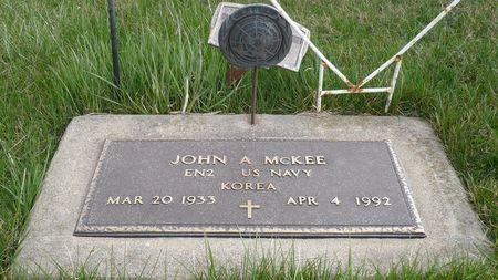 MCKEE, JOHN A. - Appanoose County, Iowa   JOHN A. MCKEE