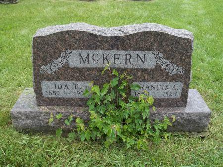 MCKERN, FRANCIS A. - Appanoose County, Iowa   FRANCIS A. MCKERN
