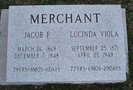 MERCHANT, JACOB F. - Appanoose County, Iowa | JACOB F. MERCHANT
