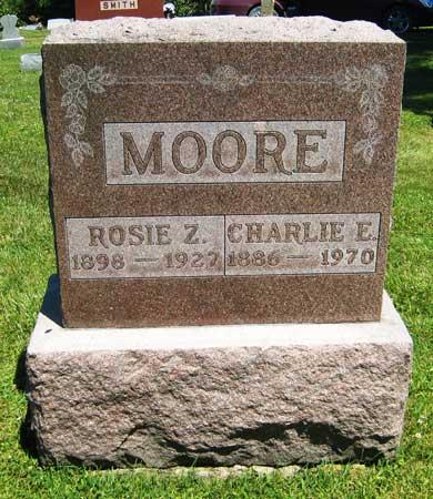 MOORE, CHARLES E. - Appanoose County, Iowa | CHARLES E. MOORE