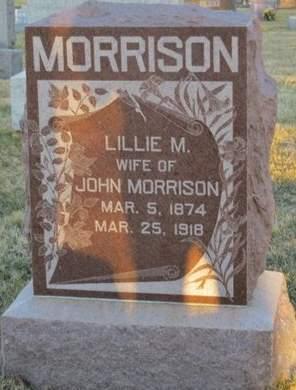 MORRISON, LILLIE M. - Appanoose County, Iowa | LILLIE M. MORRISON