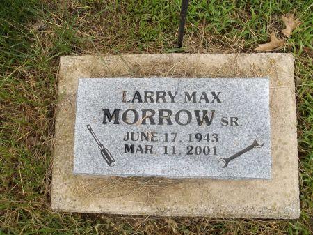 MORROW, LARRY MAX SR. - Appanoose County, Iowa | LARRY MAX SR. MORROW