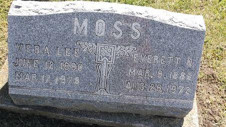 MOSS, EVERETT O. - Appanoose County, Iowa | EVERETT O. MOSS
