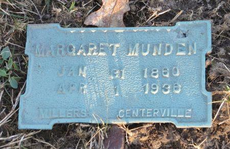 MUNDEN, MARGARET - Appanoose County, Iowa | MARGARET MUNDEN