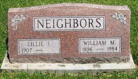 NEIGHBORS, WILLIAM M. - Appanoose County, Iowa   WILLIAM M. NEIGHBORS