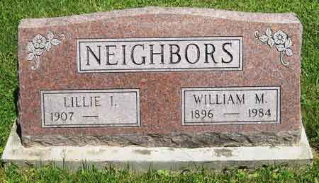 NEIGHBORS, WILLIAM M. - Appanoose County, Iowa | WILLIAM M. NEIGHBORS