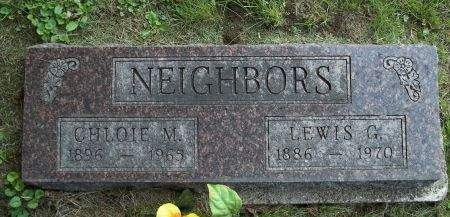 NEIGHBORS, LEWIS G. - Appanoose County, Iowa | LEWIS G. NEIGHBORS