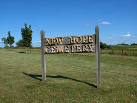 NEW HOPE (MORAVIA), CEMETERY - Appanoose County, Iowa | CEMETERY NEW HOPE (MORAVIA)