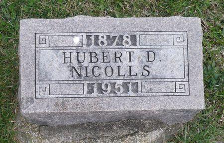 NICOLLS, HUBERT D. - Appanoose County, Iowa | HUBERT D. NICOLLS