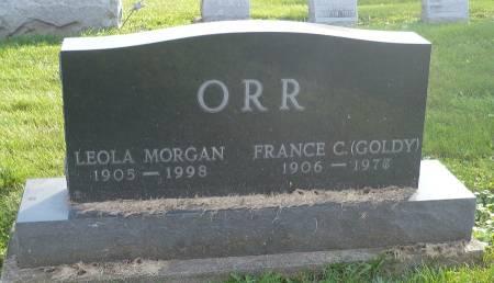 ORR, FRANCE C. - Appanoose County, Iowa | FRANCE C. ORR