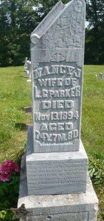 BARNEY PARKER, NANCY JUDSON - Appanoose County, Iowa | NANCY JUDSON BARNEY PARKER