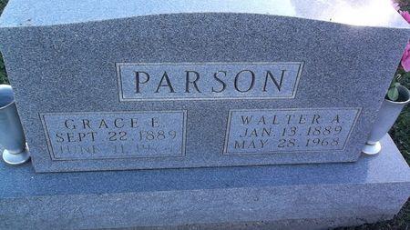 PARSON, GRACE E. - Appanoose County, Iowa | GRACE E. PARSON