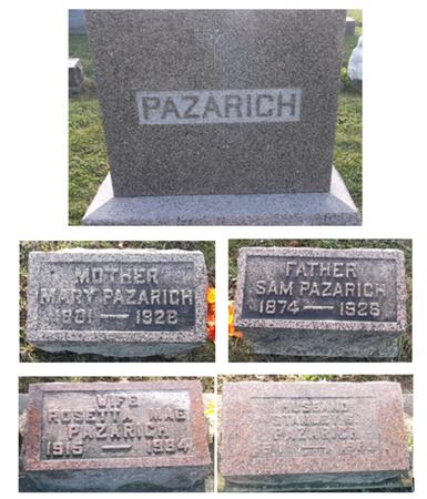 PAZARICH, STANLEY G. - Appanoose County, Iowa | STANLEY G. PAZARICH