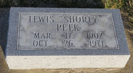 PEEK, LEWIS - Appanoose County, Iowa | LEWIS PEEK