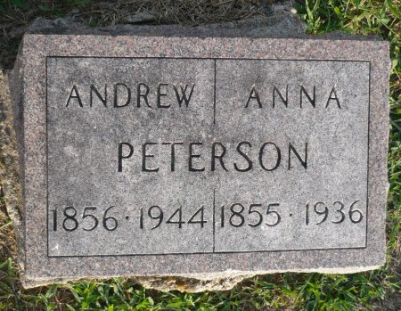 PETERSON, ANNA - Appanoose County, Iowa | ANNA PETERSON