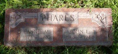 PHARES, FANNIE M. - Appanoose County, Iowa | FANNIE M. PHARES