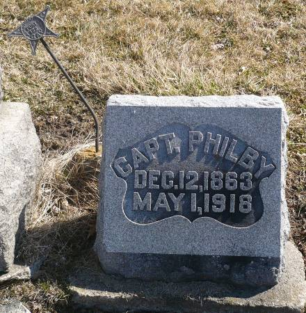 PHILBY, CAPT. - Appanoose County, Iowa | CAPT. PHILBY