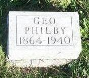 PHILBY, GEORGE - Appanoose County, Iowa | GEORGE PHILBY