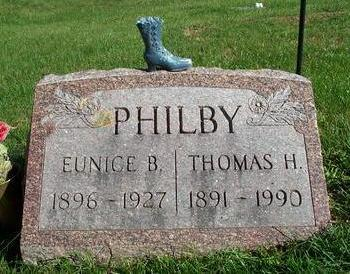 WILSON PHILBY, EUNICE B. - Appanoose County, Iowa | EUNICE B. WILSON PHILBY