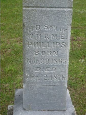 PHILLIPS, H.D. - Appanoose County, Iowa | H.D. PHILLIPS