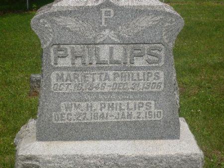 PHILLIPS, MARIETTA - Appanoose County, Iowa | MARIETTA PHILLIPS