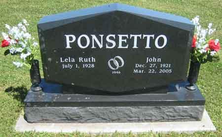 FENTON PONSETTO, LELA RUTH - Appanoose County, Iowa | LELA RUTH FENTON PONSETTO