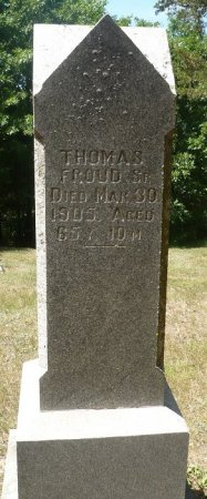 FROUD, THOMAS, SR. - Appanoose County, Iowa | THOMAS, SR. FROUD
