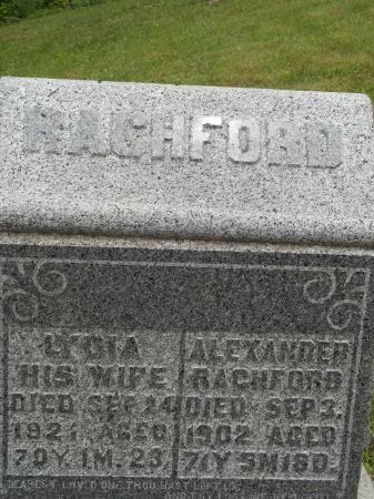 RACHFORD, ALEXANDER - Appanoose County, Iowa | ALEXANDER RACHFORD