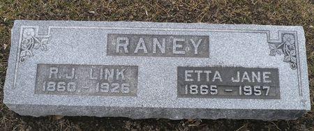RANEY, ETTA JANE - Appanoose County, Iowa | ETTA JANE RANEY
