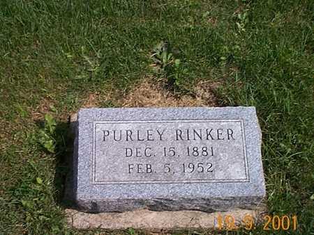 RINKER, PURLEY - Appanoose County, Iowa | PURLEY RINKER