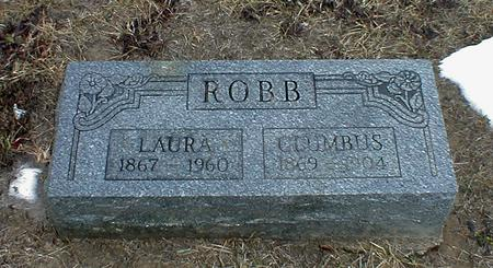 HOPKINS ROBB, LAURA BELLE - Appanoose County, Iowa | LAURA BELLE HOPKINS ROBB