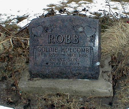 HOLCOMB ROBB, GOLDIE - Appanoose County, Iowa | GOLDIE HOLCOMB ROBB