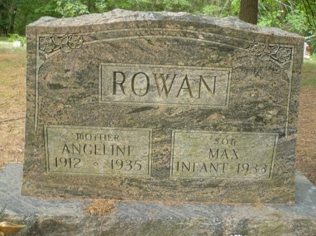 ROWAN, ANGELINE - Appanoose County, Iowa | ANGELINE ROWAN