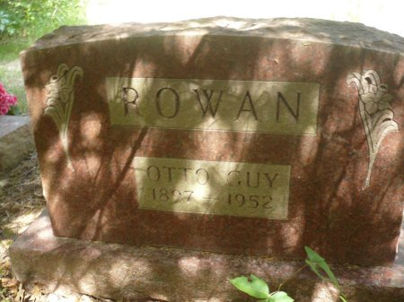 ROWAN, OTTO GUY - Appanoose County, Iowa | OTTO GUY ROWAN