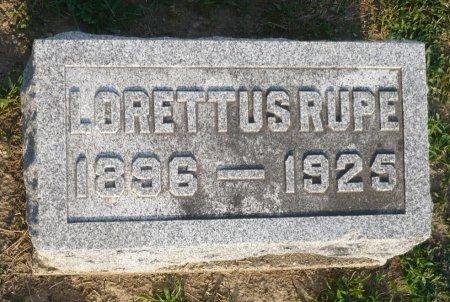 RUPE, LORETTUS - Appanoose County, Iowa | LORETTUS RUPE