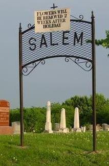 SALEM (ICONIUM), CEMETERY - Appanoose County, Iowa | CEMETERY SALEM (ICONIUM)