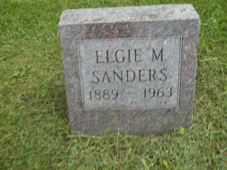 SANDERS, ELGIE M. - Appanoose County, Iowa | ELGIE M. SANDERS