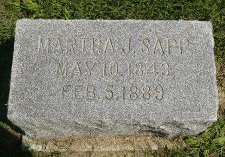 SAPP, MARTHA J. - Appanoose County, Iowa | MARTHA J. SAPP