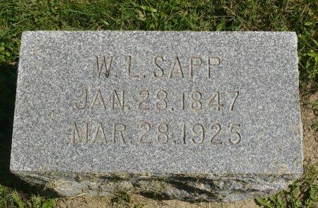 SAPP, W. L. - Appanoose County, Iowa | W. L. SAPP