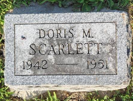 SCARLETT, DORIS M. - Appanoose County, Iowa | DORIS M. SCARLETT