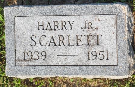 SCARLETT, HARRY JR - Appanoose County, Iowa | HARRY JR SCARLETT