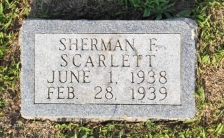 SCARLETT, SHERMAN F. - Appanoose County, Iowa | SHERMAN F. SCARLETT
