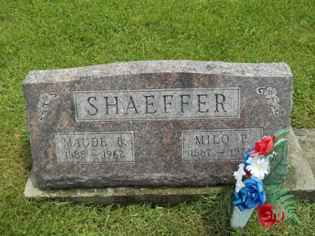 SHAEFFER, MILO P. - Appanoose County, Iowa | MILO P. SHAEFFER