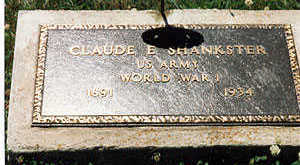 SHANKSTER, CLAUDE E. - Appanoose County, Iowa | CLAUDE E. SHANKSTER