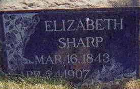 SHARP, ELIZABETH - Appanoose County, Iowa | ELIZABETH SHARP