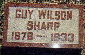 SHARP, GUY - Appanoose County, Iowa | GUY SHARP
