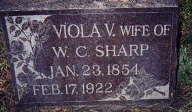 VAN GILDER SHARP, VIOLA - Appanoose County, Iowa | VIOLA VAN GILDER SHARP