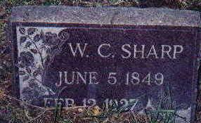 SHARP, WILLIAM - Appanoose County, Iowa   WILLIAM SHARP
